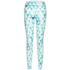 Yvette Aqua treenileggings, monivärinen